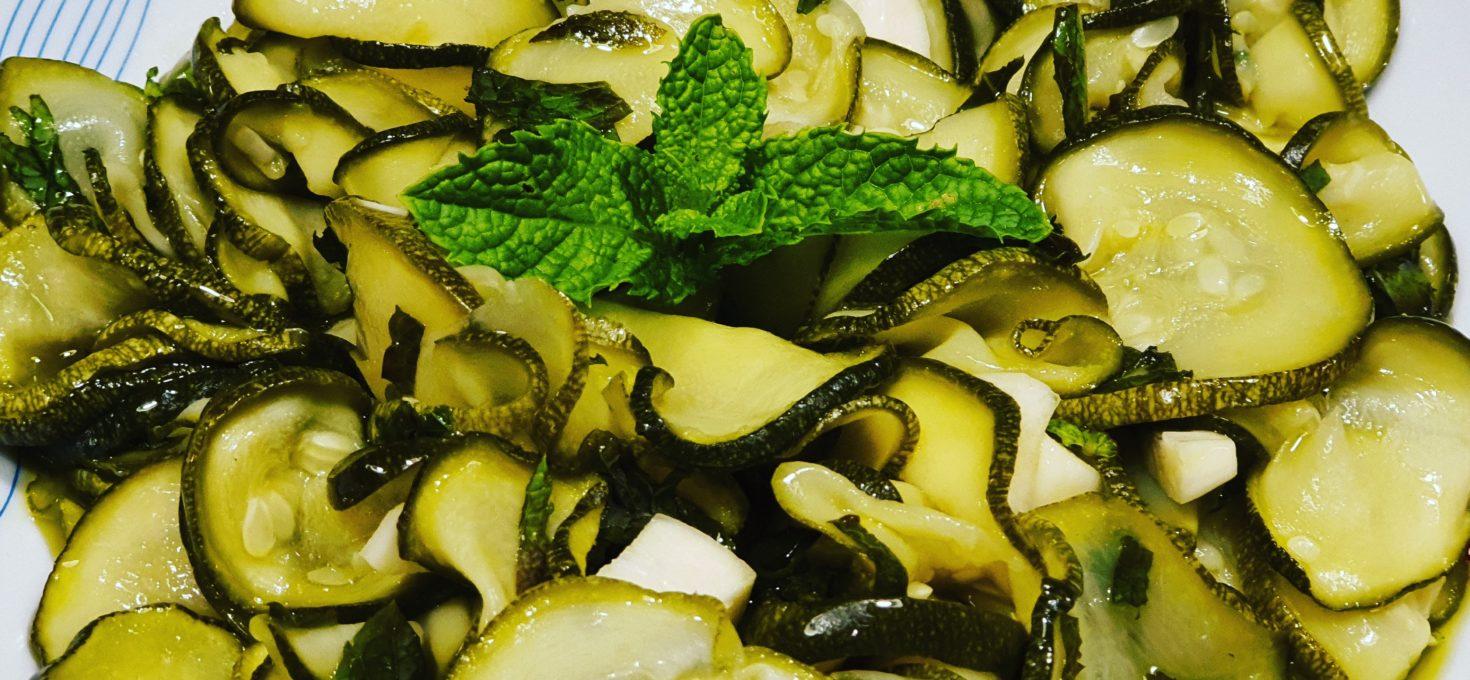 Un contorno gustoso – Zucchine alla scapece